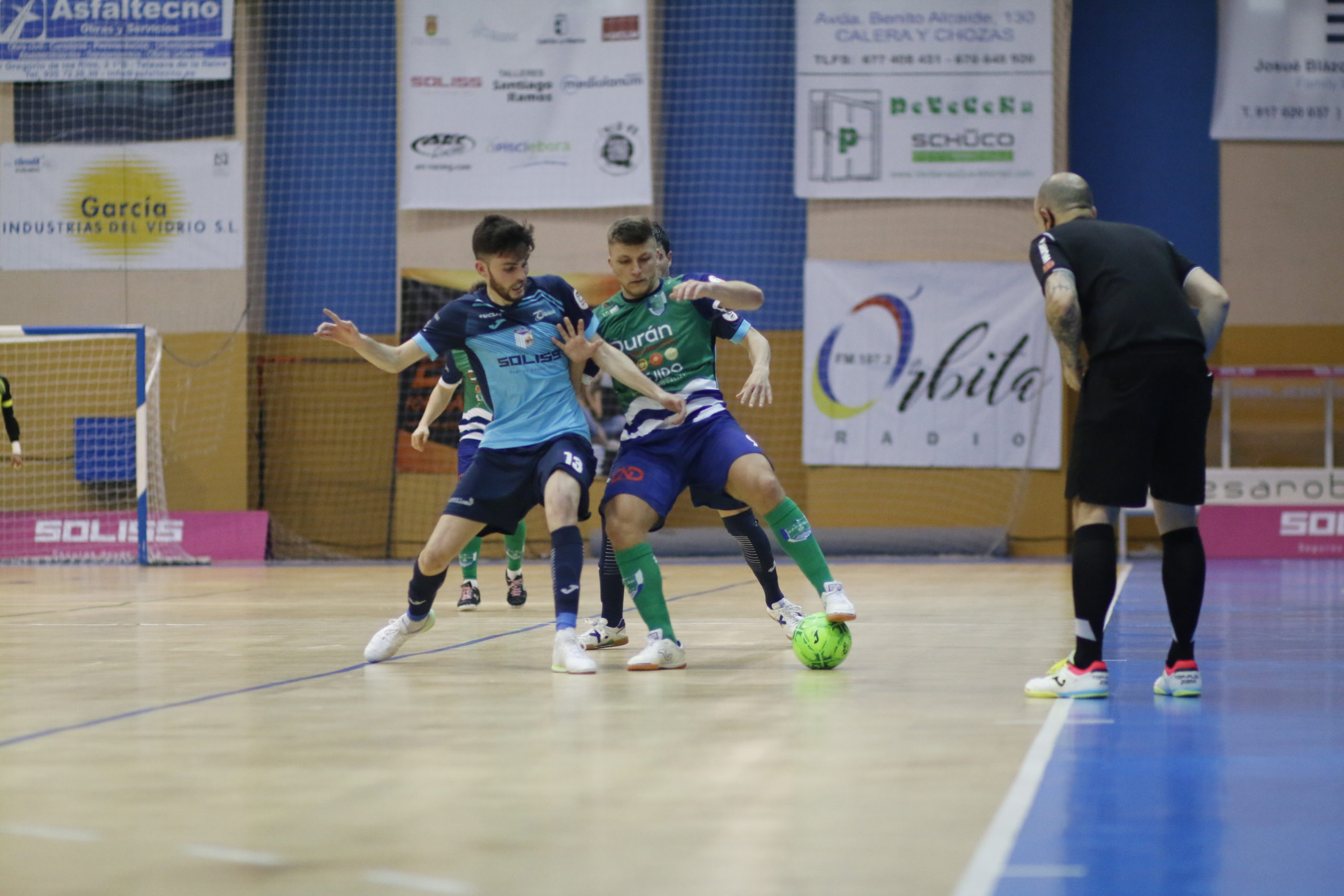 Durán Ejido Futsal cae en la pista del Talavera