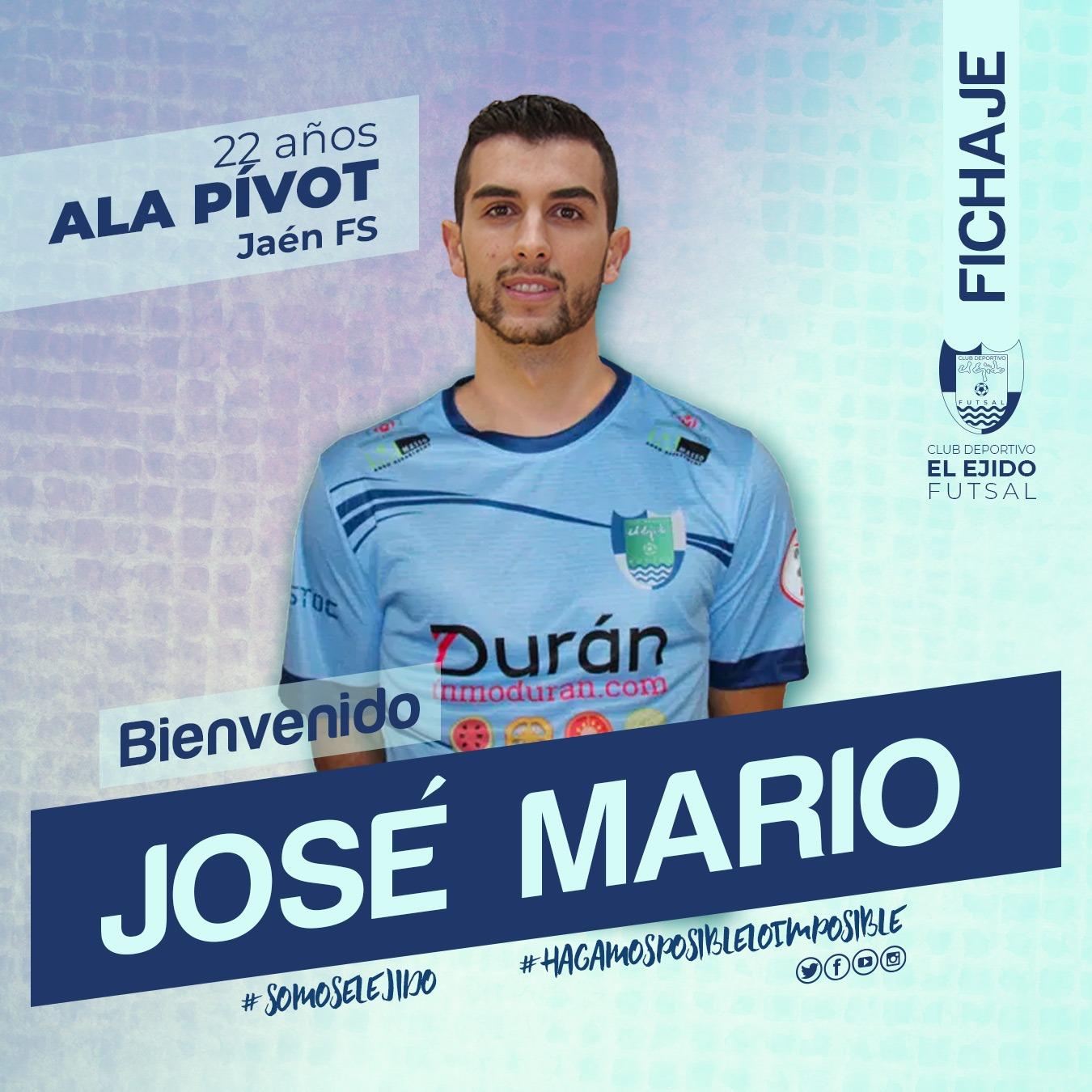 El ala pívot José Mario se incorpora a Durán Ejido Futsal
