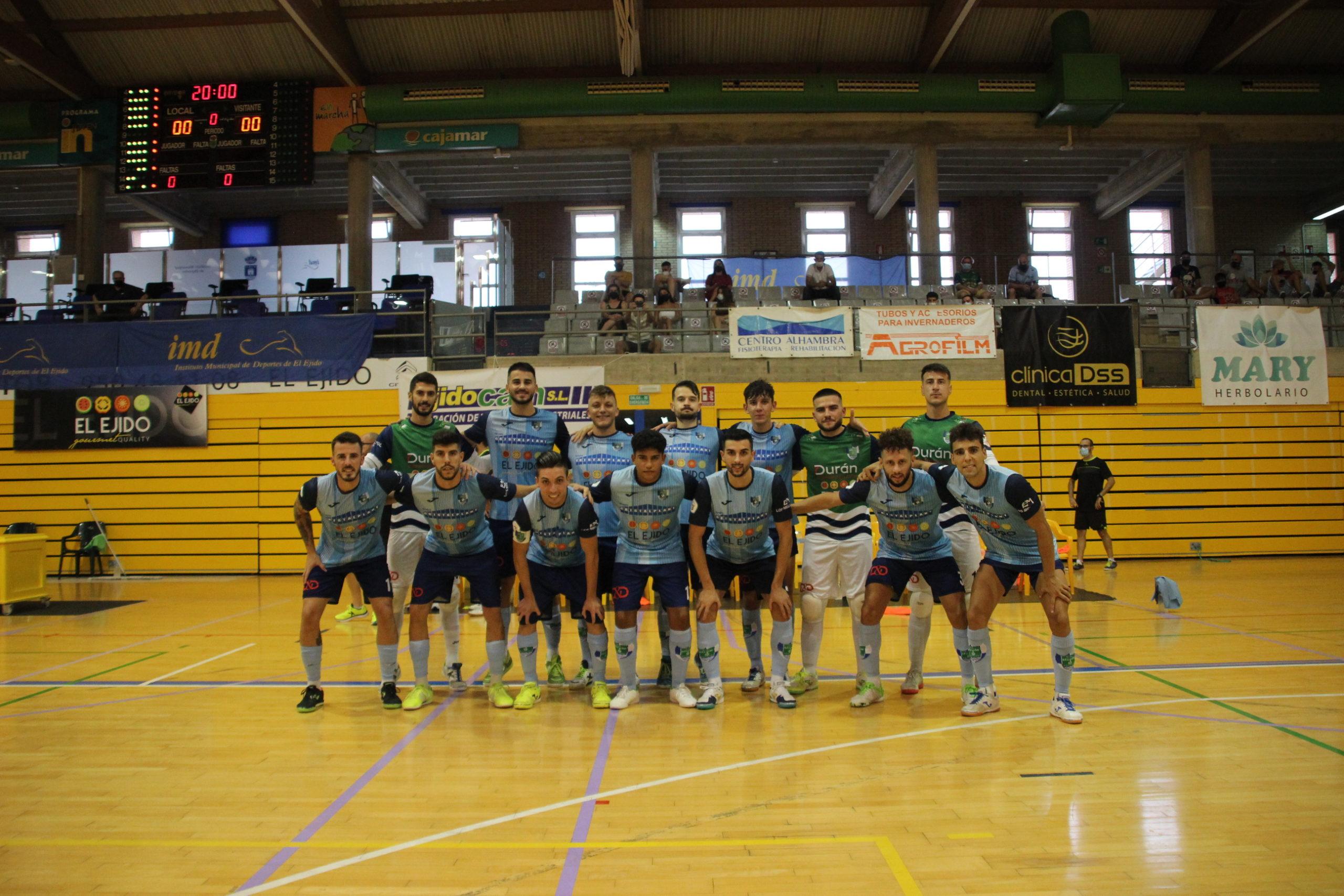 Gran imagen y holgada victoria del CD El Ejido Futsal