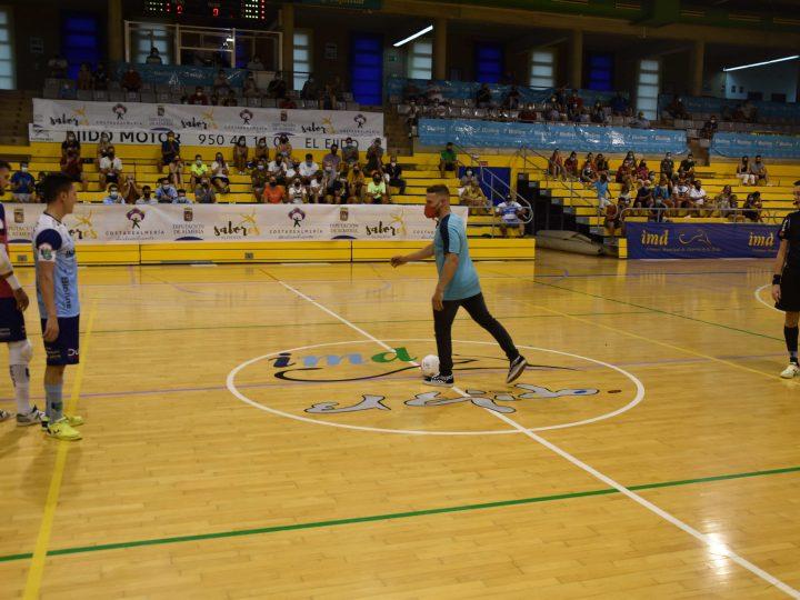 Saque de Honor en la Copa de Andalucía para el haltera olímpico David Sánchez