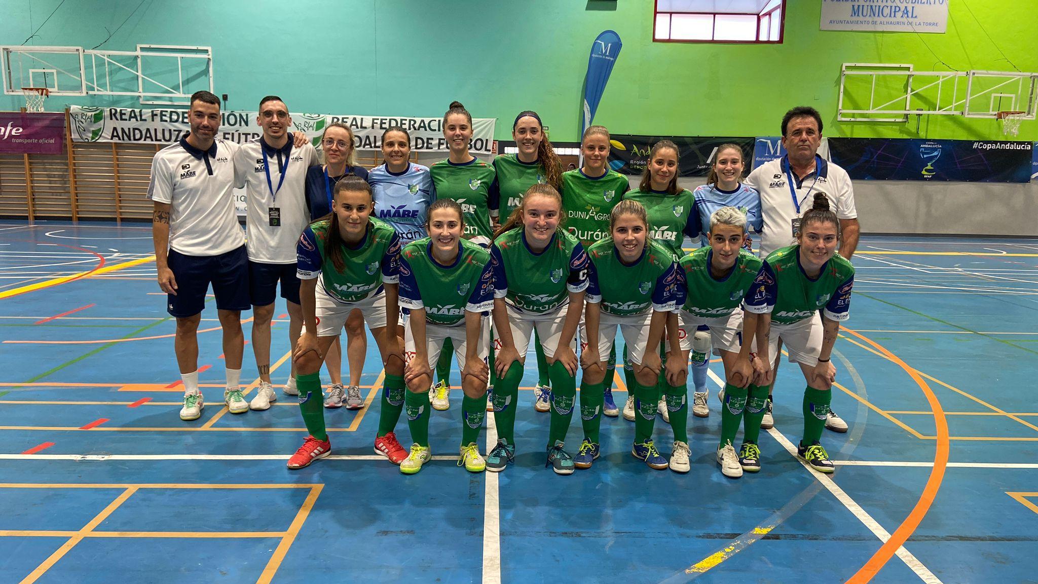 Inagroup Mabe Ejido Futsal mereció más en la semifinal de la Copa Andalucía ante Córdoba