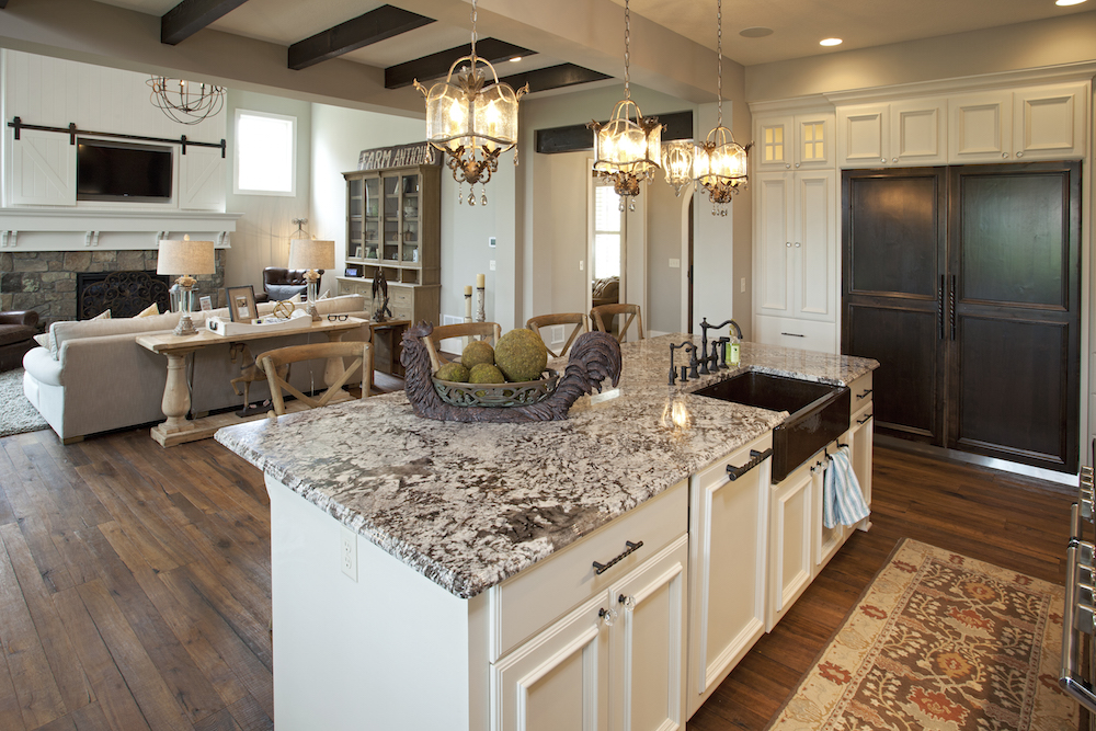 Granite Countertops In Kitchens Backsplash Sinks C D