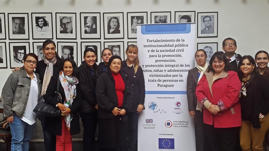 Taller para fortalecer el combate a la Trata de niñez y adolescencia en Paraguay