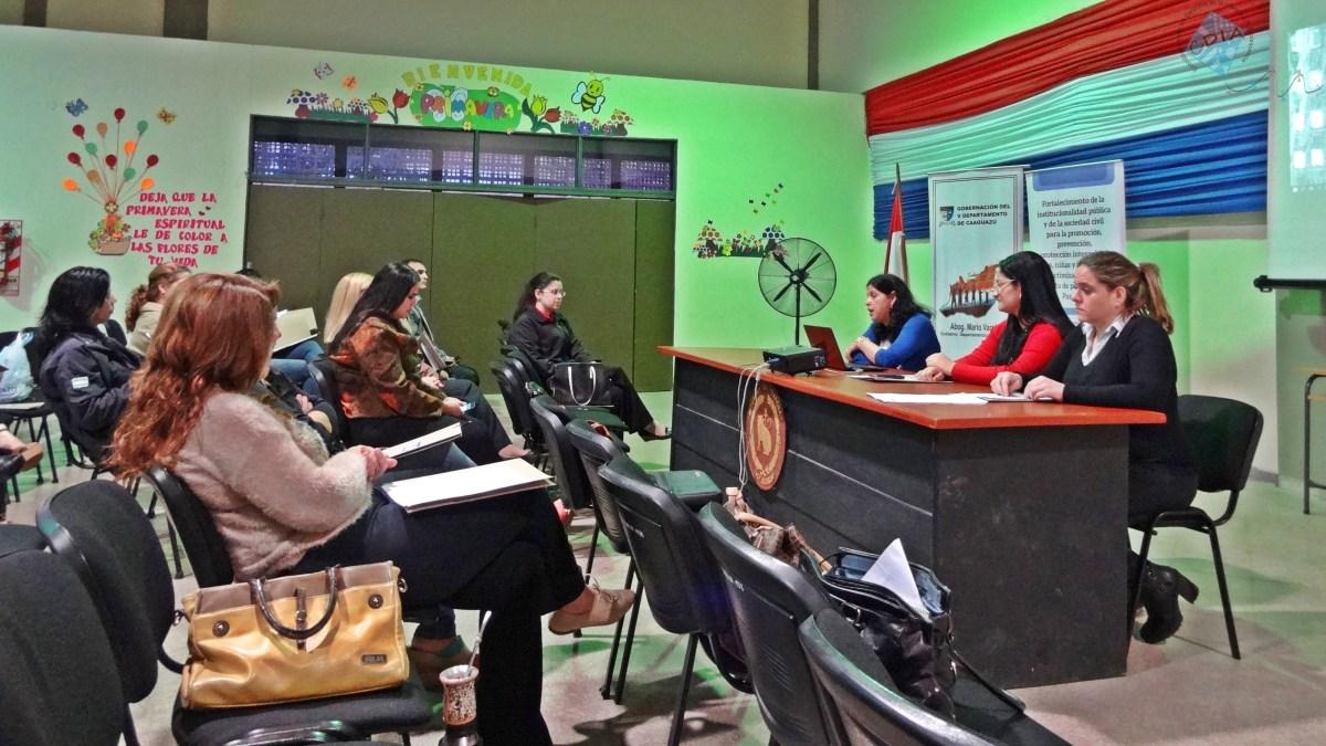 Arapoty: Fortalecimiento del combate a la trata de personas en Caaguazú