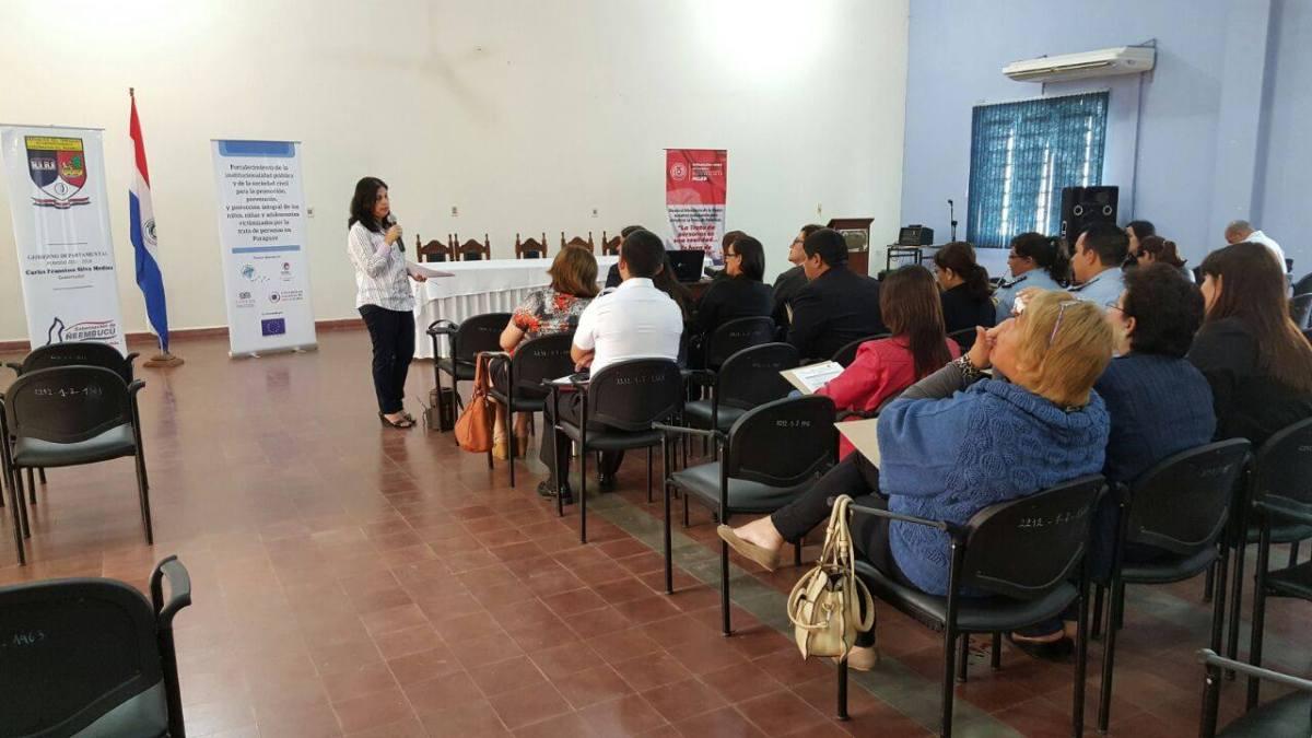 Arapoty: Fortalecimiento al combate a la trata en Ñeembucú