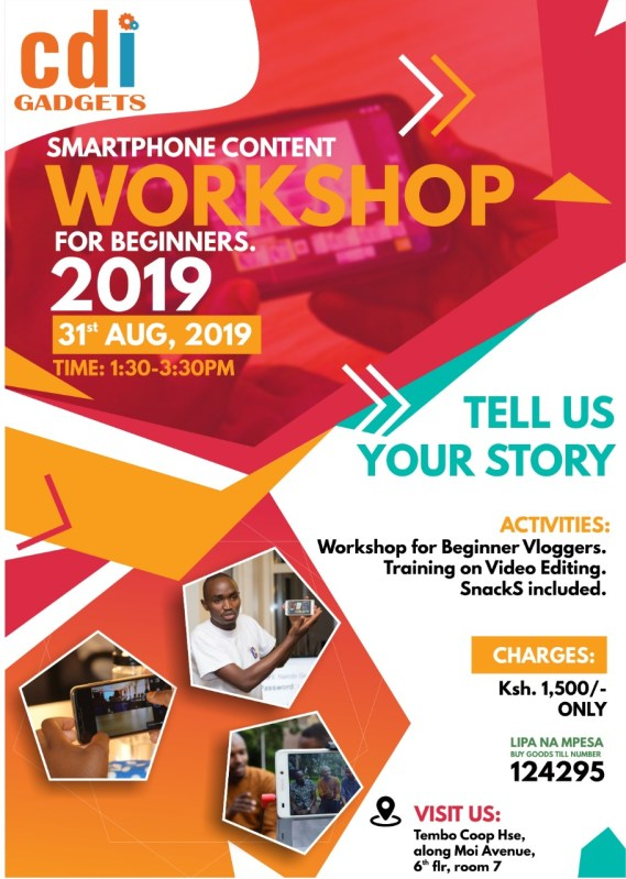 CDI Smartphone Video Content Creation Workshop