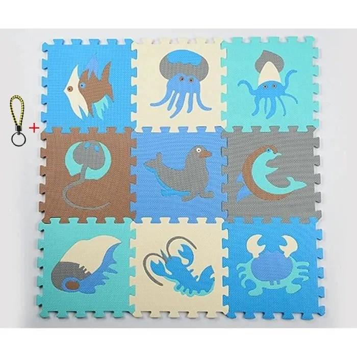 tapis puzzle animaux enfants puzzle jeu mat colore
