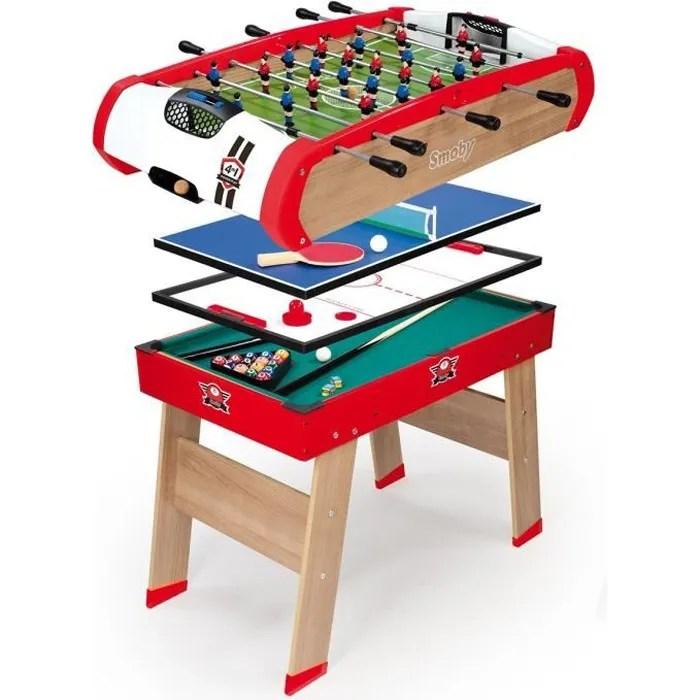 table multi jeux enfants