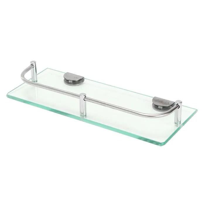 salle de bain sans percage en verre