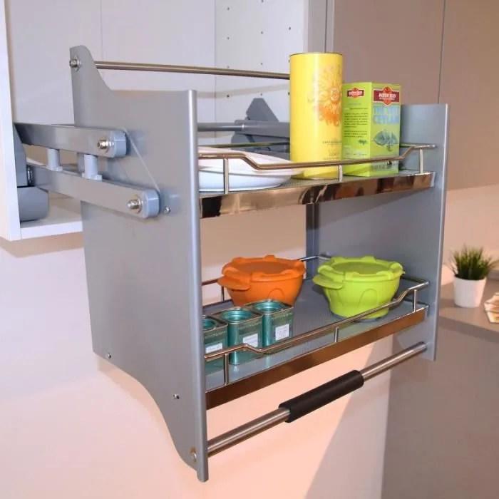 etagere de cuisine basculante smartaccess pour meuble de 60 cm