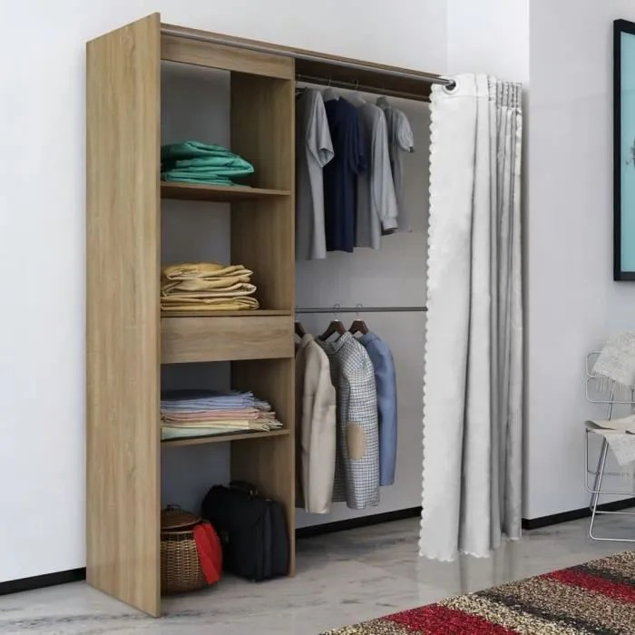garde robe armoires etageres avec