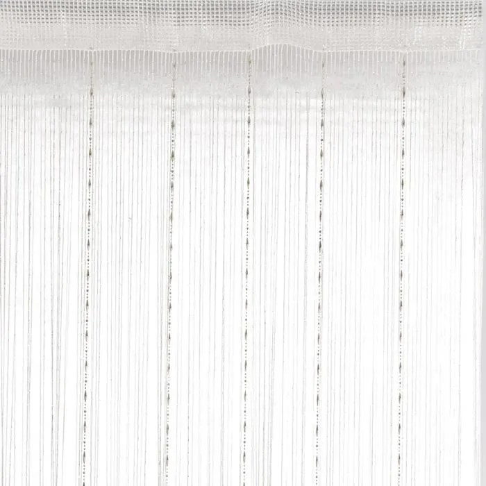 rideau fils fantaisie blanc 90cm x 2cm