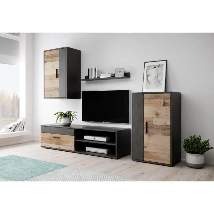meuble tv avec cave a vin