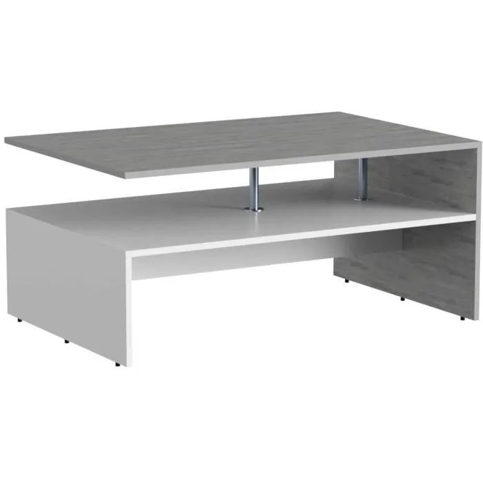vicco table basse amato table de salon beton blanc table console table d appoint