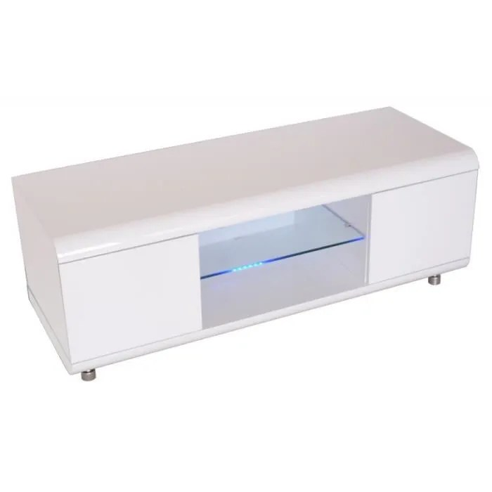 meuble tv design adan 120cm blanc