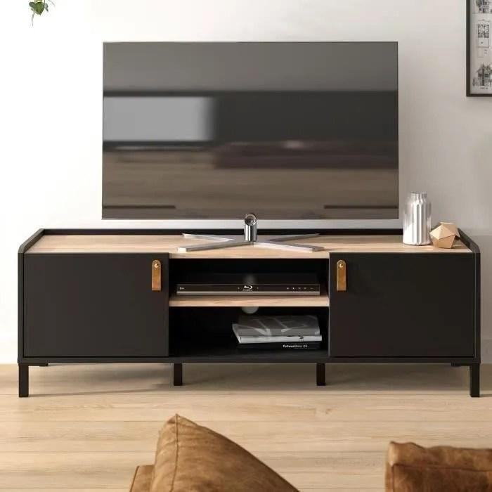 دوران مكبر الصوت الانتقام meuble tv noir but