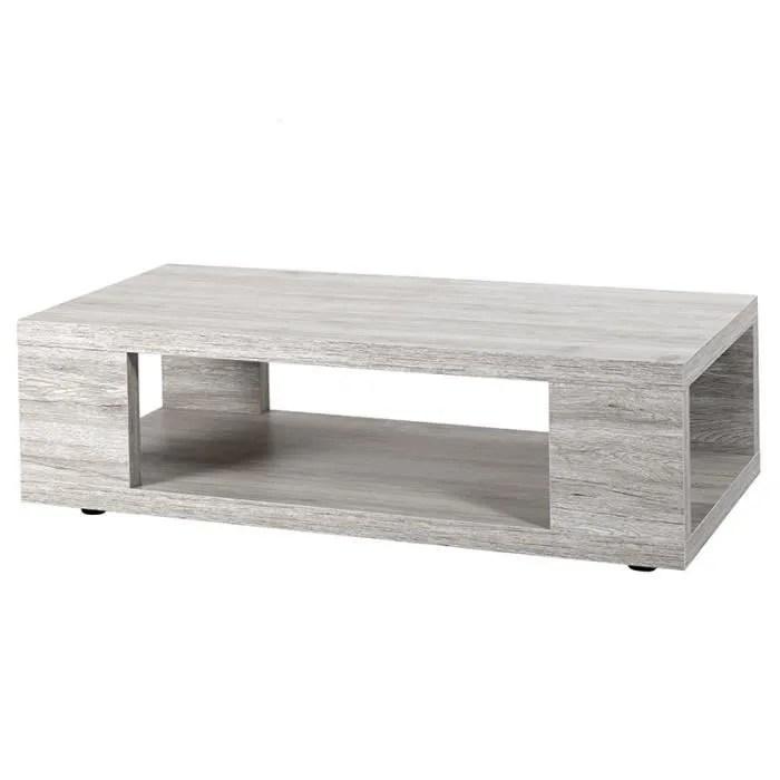 table basse contemporaine couleur chene