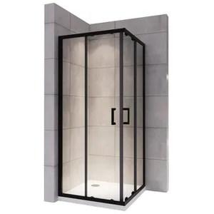 porte coulissante en verre 100 cm