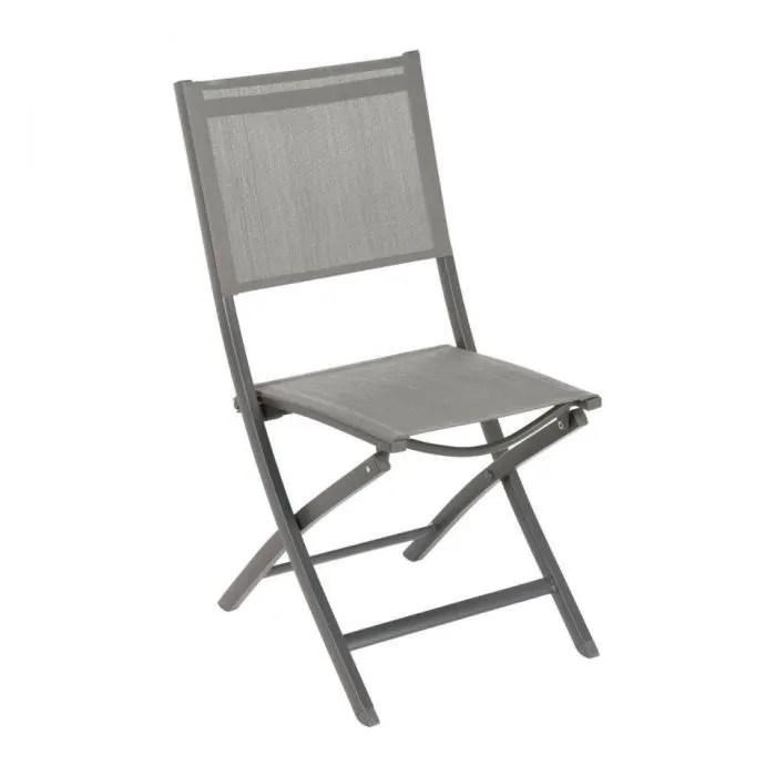 chaise pliante essentia hesperide noisette