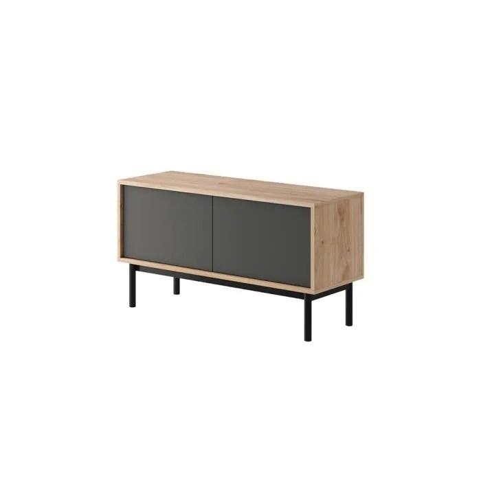meuble tele basi industriel 104 cm