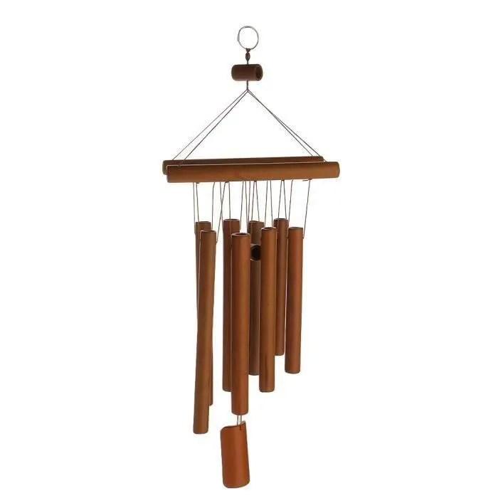 carillon relaxant bambou cour jardin exterieur ven
