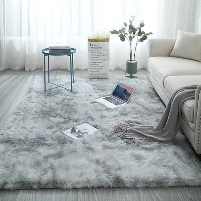 tempsa tapis de salon chambre 80x160cm shaggy yo