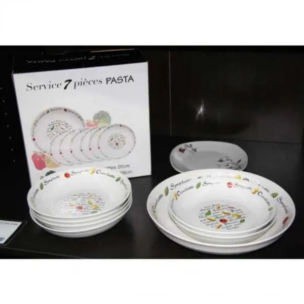 service a pates 7 pieces ref 214002