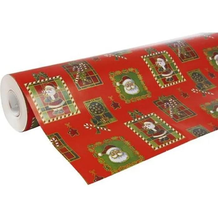 Gros Rouleau Papier Cadeau Imprime Dessins De Noel 50 Metres Cdiscount Beaux Arts Et Loisirs Creatifs