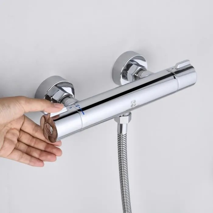 homelody mitigeur thermostatique bain douche therm