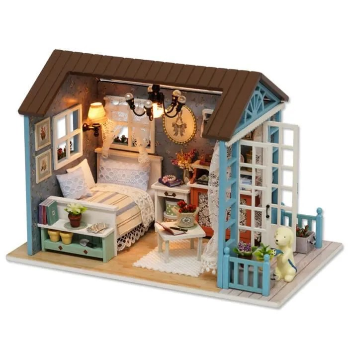 maison miniature en kit