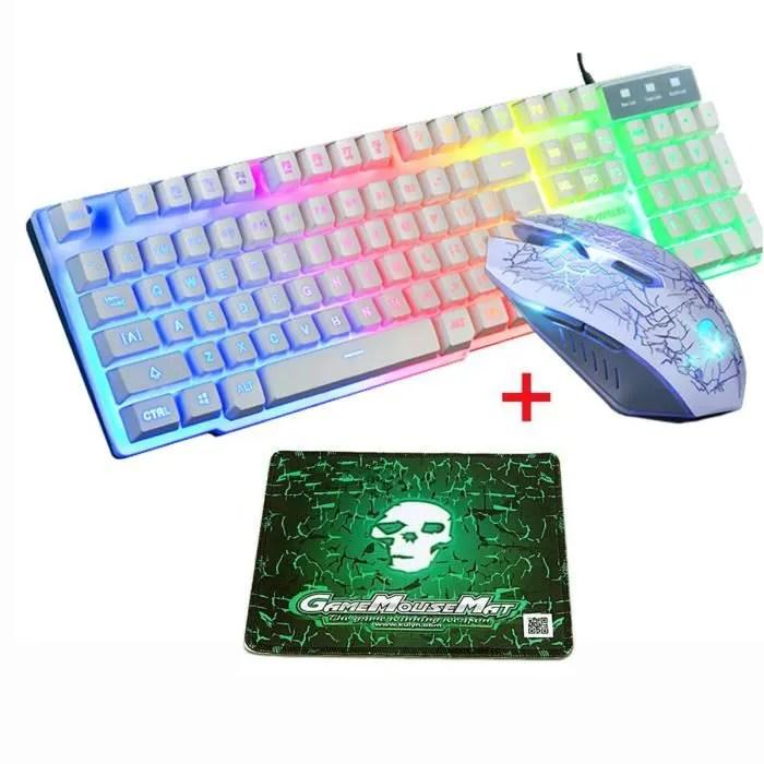 clavier souris gamer logitech