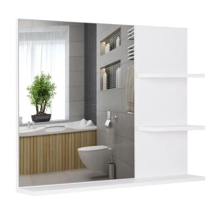 Grand Miroir Connecte Salle De Bain 120cm Achat Vente Pas Cher