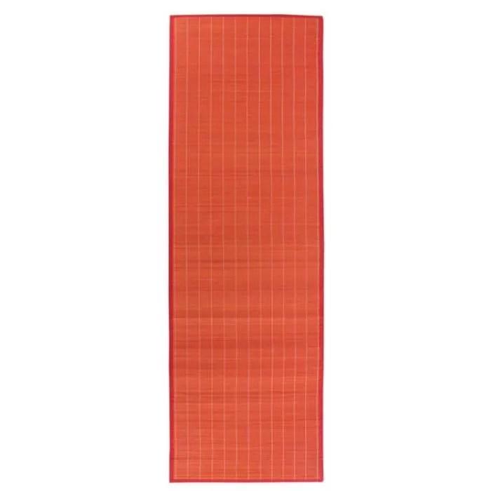 prume rouge homyl tapis de the en