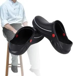 chaussure cuisine noir