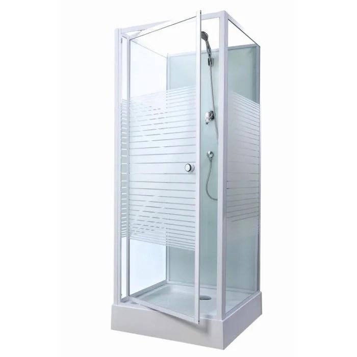 gelco cabine de douche premium 80x80