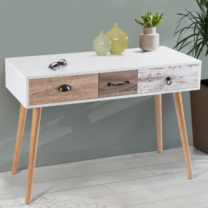 console bureau meuble