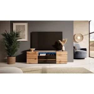 Meuble Tv 140 Cm Soldes Cdiscount Maison