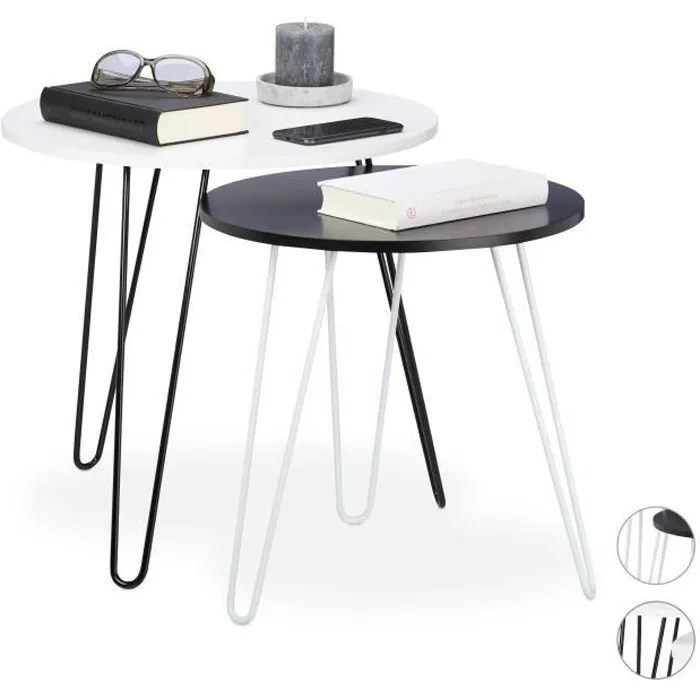 petite table d appoint ronde
