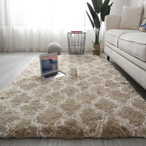 rond tapis yoga peluche moelleux