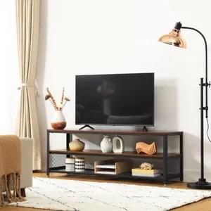 meuble tv metal cdiscount maison