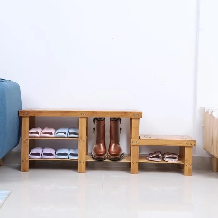 banc rangement chaussures bancs