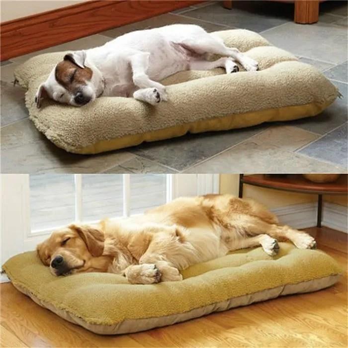 panier doux pour chien grand lit tapis coussin