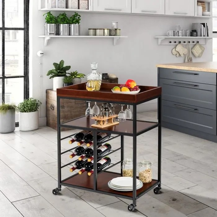 meuble cuisine industriel