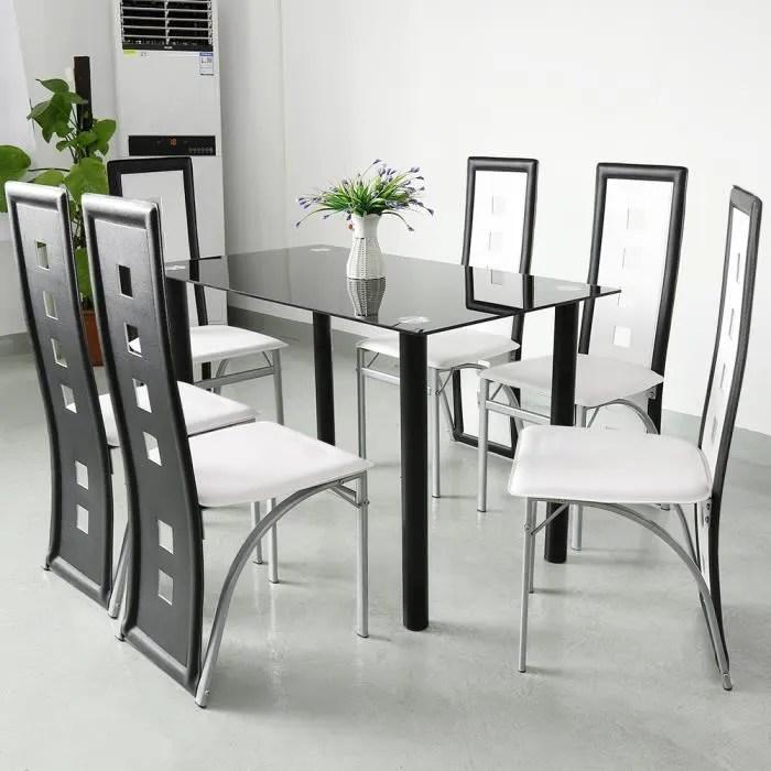 haute qualite lot de 6 chaises de salle a manger magnifique economique chaises de salle de cuisine