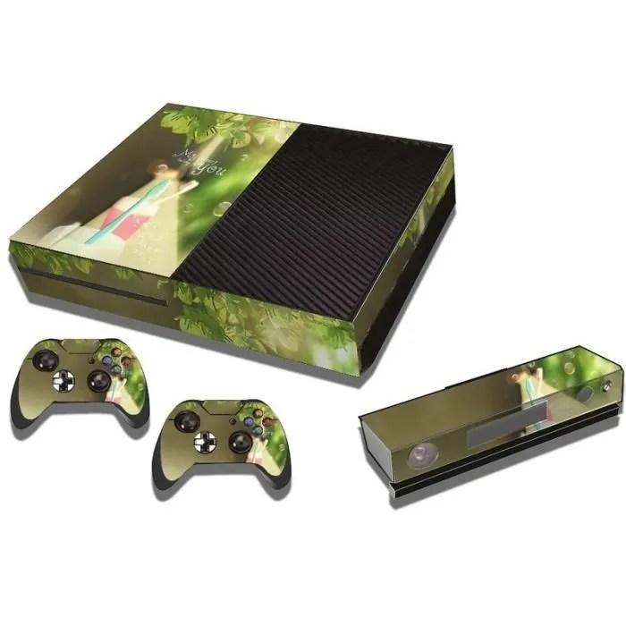 accessoires xbox one vinyl durites console de jeux n267