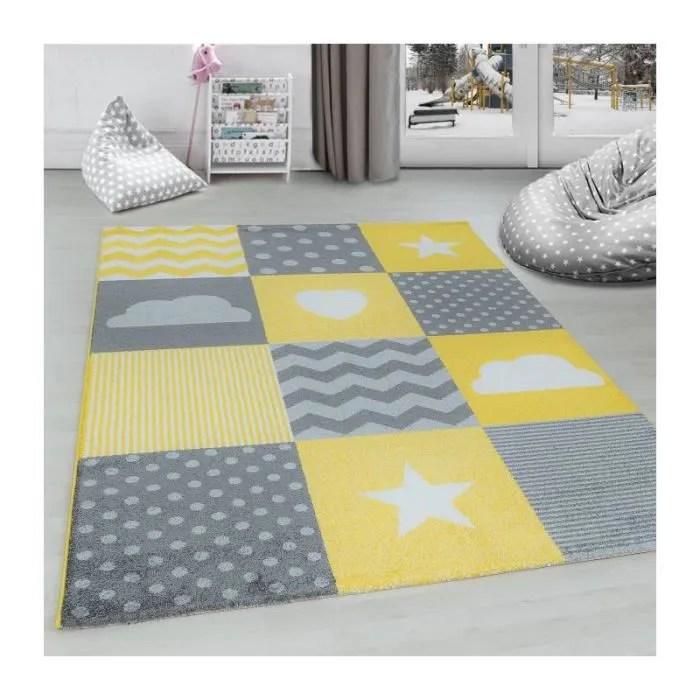 tapis pour chambre d enfants a carreaux