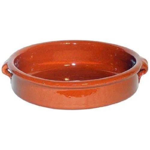 plat en terre cuite pour le four