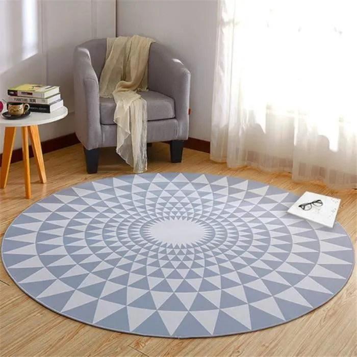 180cm tapis rond salon chambre grand