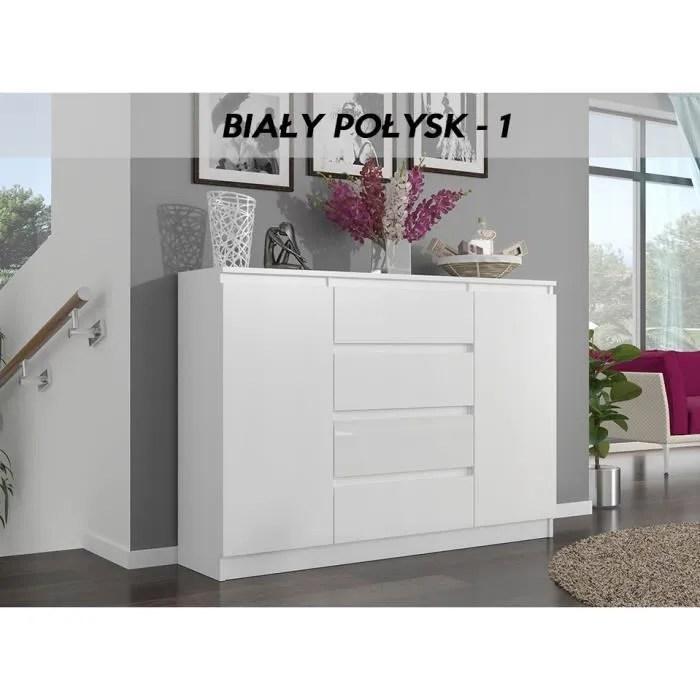 porto w1 commode contemporaine meuble rangement