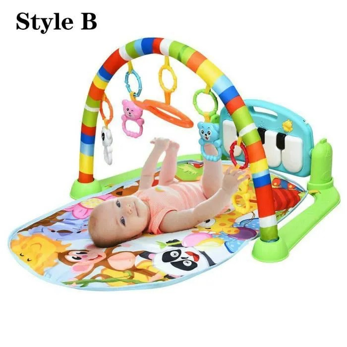 tapis doux hochets jouets